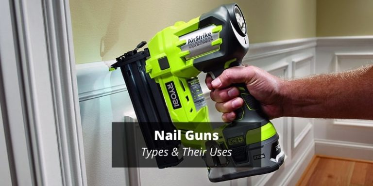 Types of nail guns