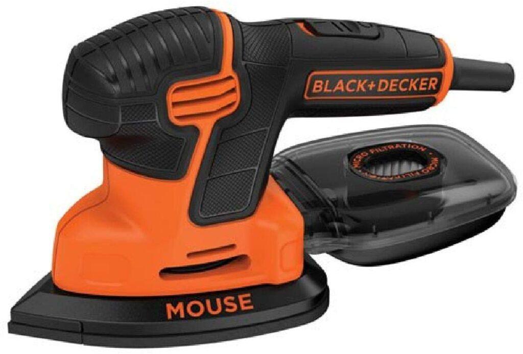 Black Decker Mouse Detail