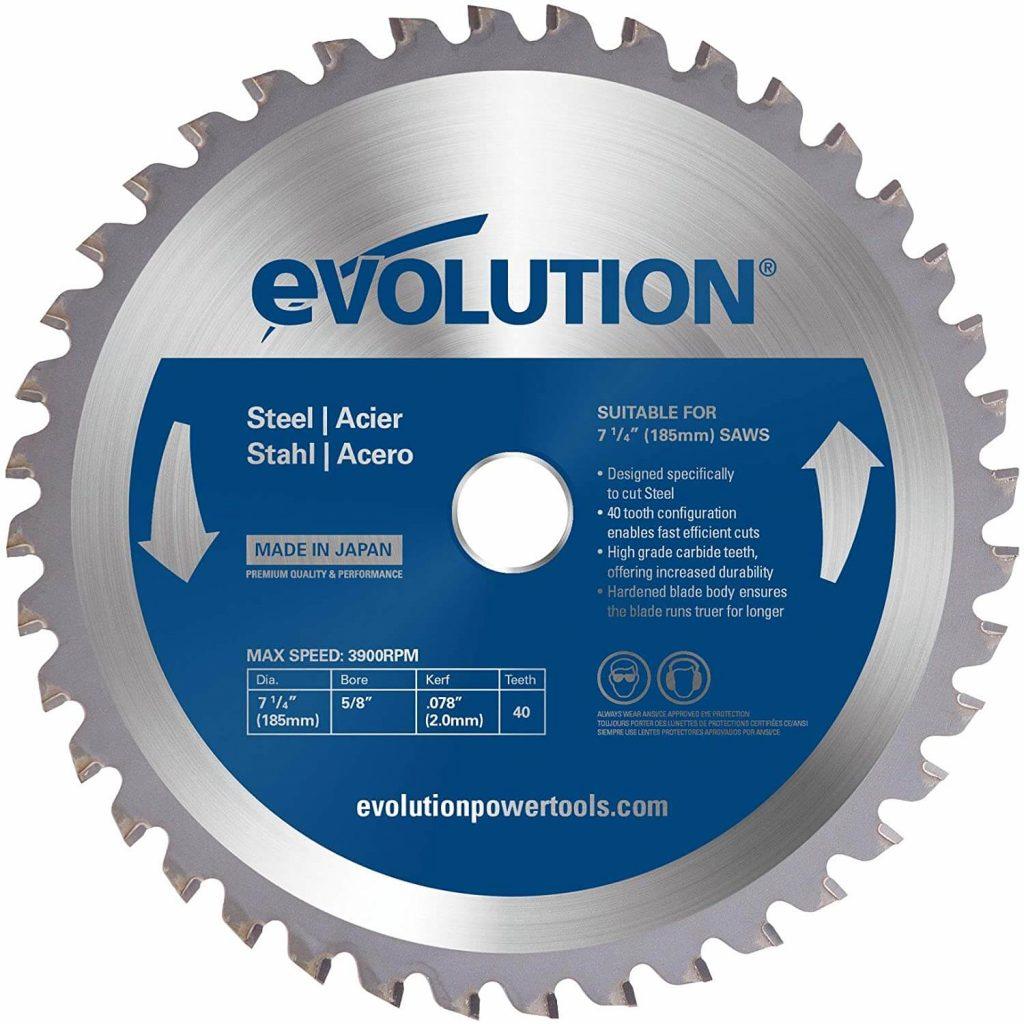 Evolution Power Tools 185BLADEST Steel Cutting Saw Blade