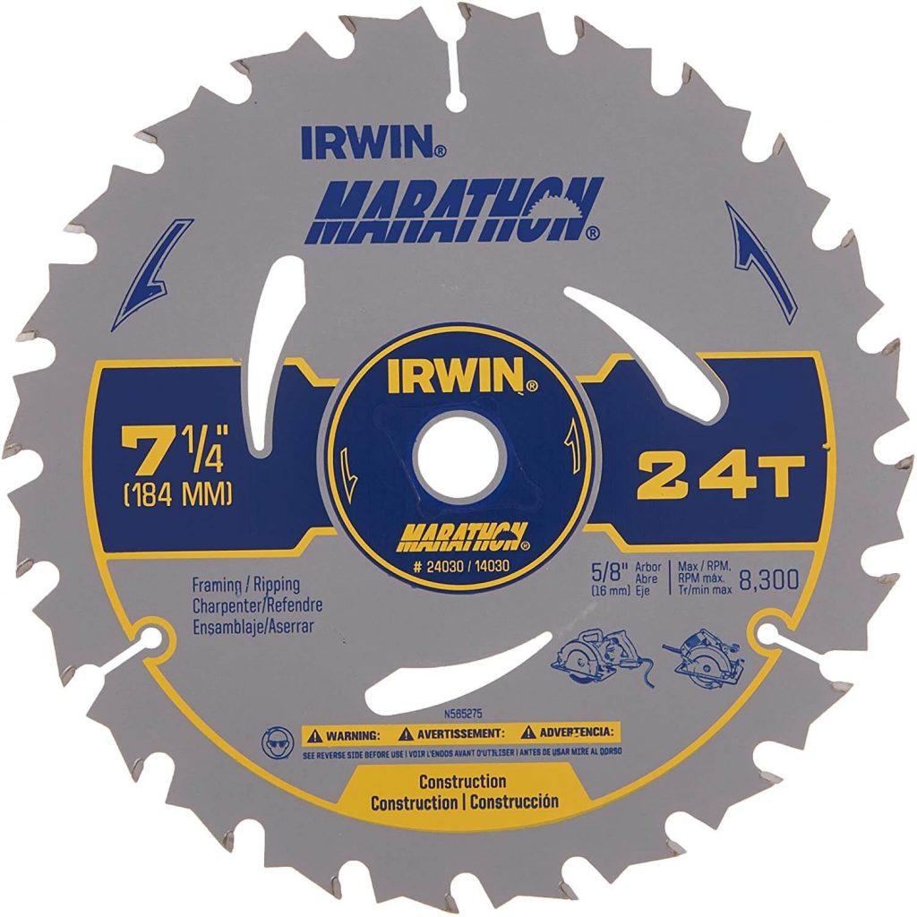 Best 7 ¼ circular saw blade