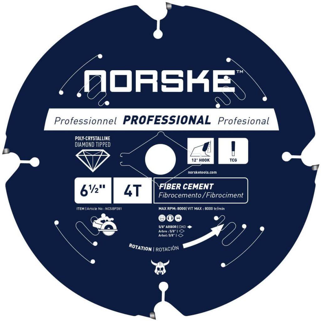 Norske Tools NCSBP281 6-1/2-inch Circular Saw Blade