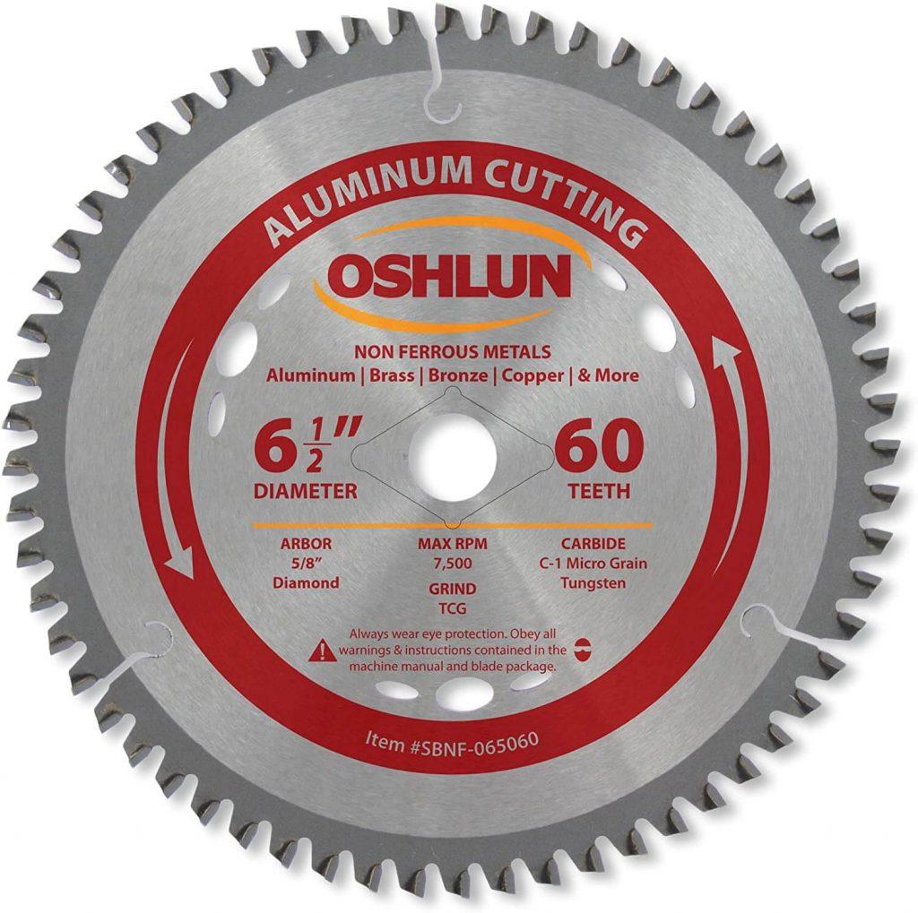 Oshlun SBNF-065060 6-1/2-Inch Circular Saw Blade