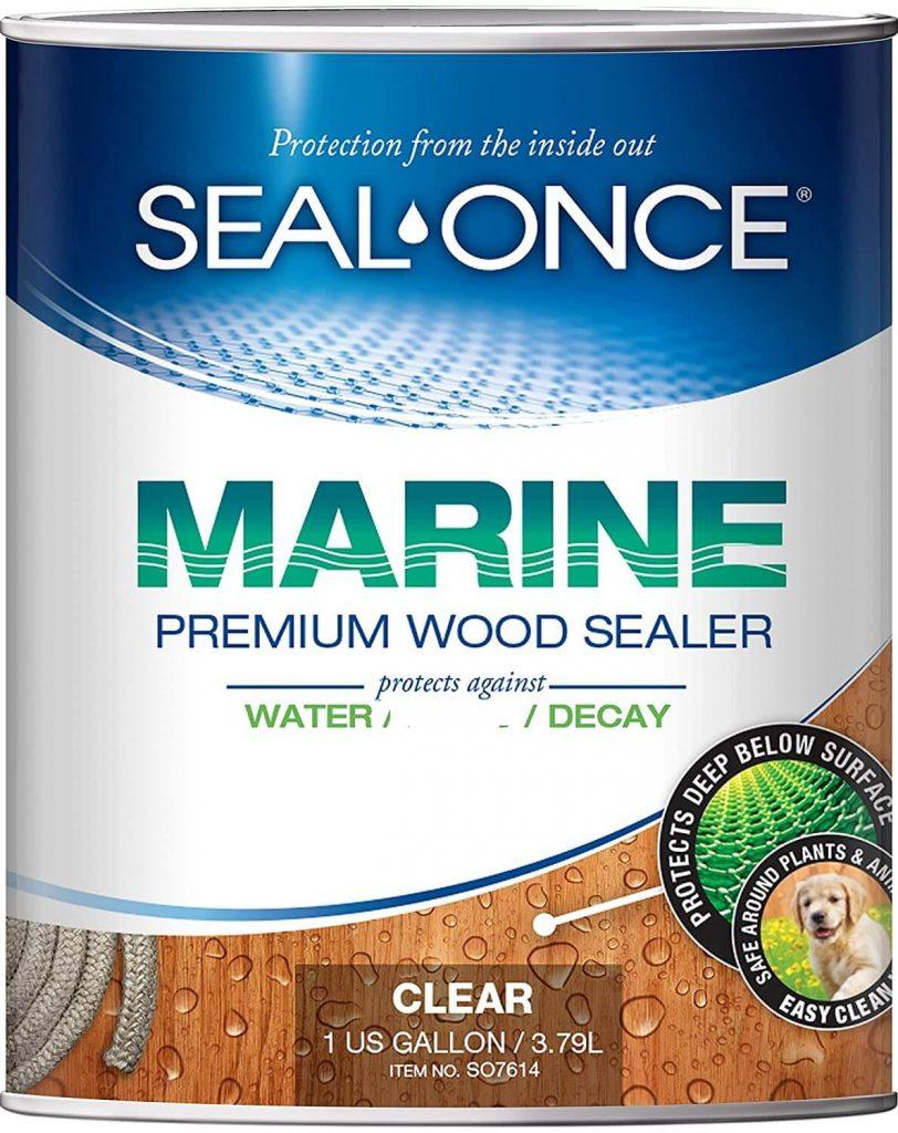 SEAL-ONCE MARINE Deck Sealer