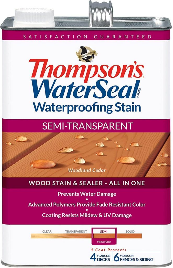 Thompson's Water Seal 041851-16 Transparent Stain