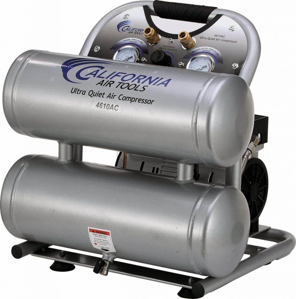 California Air Tools CAT-4610AC Quiet & Oil-Free Portable Air Compressor