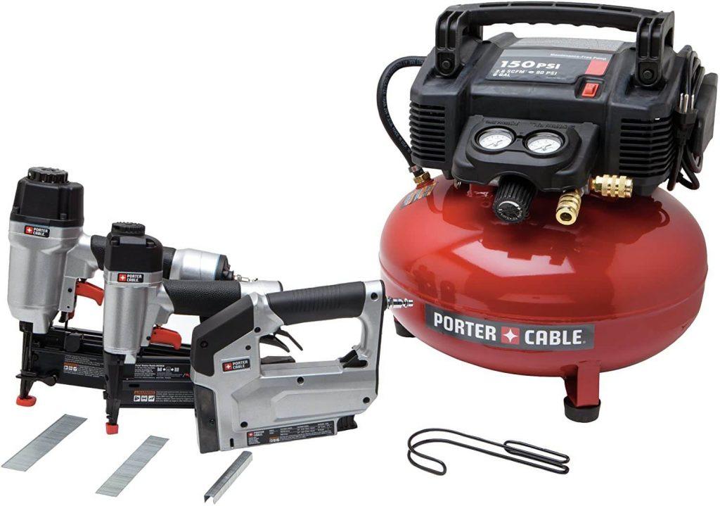 PORTER-CABLE PCFP12234 Air Compressor Kit