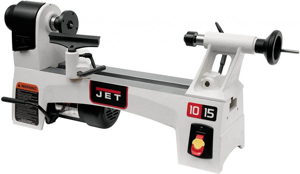 """7. JET JWL-1015, 10"""" x 15"""" Wood Lathe"""