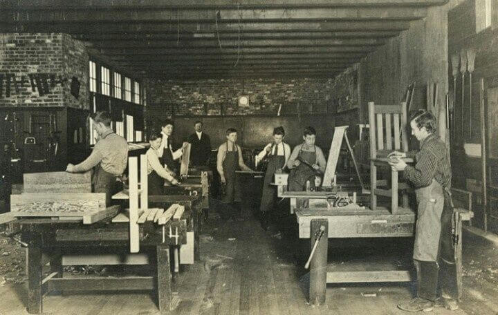 history of woodworking