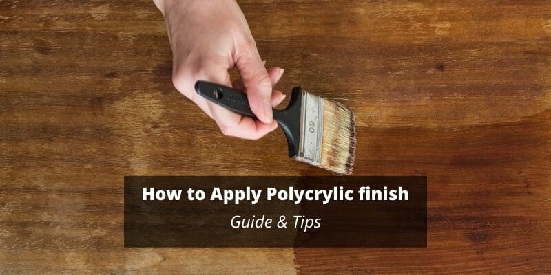 how to apply polycrylic