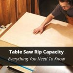 table saw rip capacity